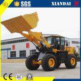 Xd958g 5 maquinaria de construcción del cargador de la rueda de la carga clasificada Zl50 de la tonelada
