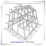 Gewächshaus mit Twinwall Polycarbonat