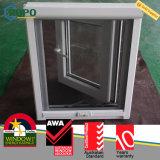 Norme australienne glacée par double allemand de porte-fenêtre de Veka UPVC