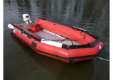 Semi-Rigid Opblaasbare Boot Boat/Military Rescue/Rubber van Aqualand 16FT (470)