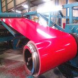La perfection a enduit la tôle d'une première couche de peinture d'acier galvanisée de l'acier PPGI