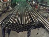 パターンが付いているステンレス鋼の管