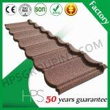 La pierre de plaque en acier de matériau de toiture couvre de tuiles l'usine de tuile de toit de Chambre