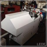 Coupure de forme de v de machine de découpage de meneau de guichet d'UPVC et de machine de portes