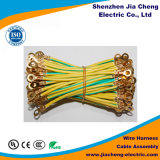 Wire Wire Spring Coiled Safety Harness Gancho de fita mágica