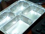 Aluminiumfolie-Behälter