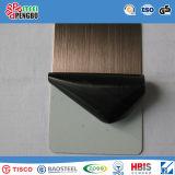 304 het kleur Met een laag bedekte Blad van het Roestvrij staal voor Bouwmateriaal