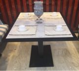 Tabelle pranzanti del quarzo del marmo dell'hotel cinque stelle di superficie solido di qualità superiore della pietra