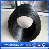 Alta calidad y alambre destemplado negro barato
