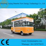 De kleine Vrachtwagen van het Voedsel van Verkopers Elektrische Mini voor Verkoop met Goedgekeurd Ce van 4 Batterijen