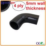 Rendimento elevato tubo flessibile del silicone del gomito da 45 gradi