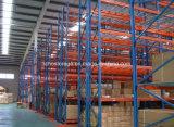Racking selettivo del pallet di memoria del magazzino d'acciaio resistente del metallo