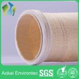 Sachets filtre de collecteur de poussière de Méta-Aramid de qualité