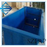 Lagoa dos tanques/peixes da cultura aquática dos peixes da fibra de vidro