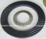 La rondelle de sécurité/a nervuré la rondelle de sûreté (DIN9250)
