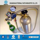 Cilindro de alumínio portátil pequeno de alta pressão