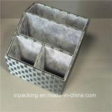 Caixa de armazenamento preta do arquivo do escritório do plutônio da alta qualidade