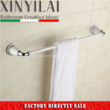 Vintage Design-5192 Barra de toalla de latón de pintura cromada para accesorios de baño