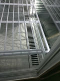 Vertikale 290L vier Glas-Tür-kühlenschrank