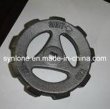 Roda de mão da carcaça do ferro cinzento da válvula