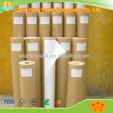 Papel reciclado embalaje del trazador de líneas de Kraft Brown del rodillo con la alta calidad para la fabricación del bolso