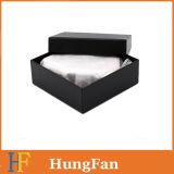 Caja de embalaje de la insignia del regalo de encargo de la cartulina/rectángulo de joyería