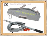 Cuerda de alambre que tira del alzamiento de la cubierta de acero de la alta calidad
