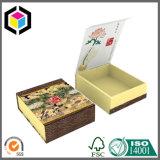 Напечатанная загерметизированная тесемкой коробка подарка бумаги картона