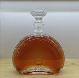 700ml leeren Weinbrand-Flasche mit Aluminiumschutzkappen-Glas-Dekantiergefäß