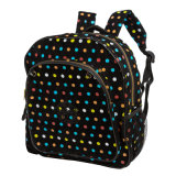 Малыши School Backpack с Stripe DOT Printing (DR-07-2)