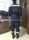 Coverall безопасности с отражательными лентами и сеткой