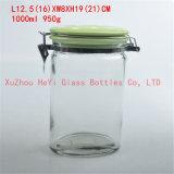 500ml正方形のガラス瓶、食糧貯蔵容器のWithseaのふた