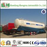 Bas de page de camion-citerne aspirateur de silo en vrac de ciment des axes 45cbm de la Chine 3