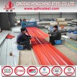 カラーによって塗られるPrepainted鋼鉄屋根ふき波形シート