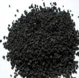 Partículas de borracha pretas para a pista de decolagem/campo de jogos plásticos, trilha Running