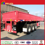 40FT 35ton 3 Eixo Cargo Side Wall Semi Trailers