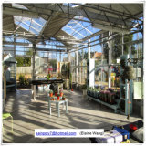 Grünes Aluminiumgarten-Gewächshaus