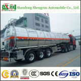 China Shengrunaluminium Fuel Tanker mit Mirror Surface