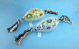 Einfaches Hündchen-Spielzeug, Seil-Knochen, Seil-Kugel und Seil-Stern