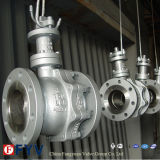 Worm Box Operated (Q41F)를 가진 뜨 Ball Valve