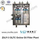 Type en ligne Zxjy-3 d'usine de filtre à huile d'Oltc
