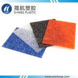 Placa Decorativa de PCs de policarbonato de diamante Lexan Orange Diamond