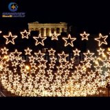 Diodo emissor de luz ao ar livre String Star Light de Decoration Christmas Ornament para Holiday Decoration com CE RoHS