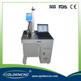 Máquina de la marca del laser de la fibra del grabador del laser del CNC de la fábrica de China para todo el metal y plástico
