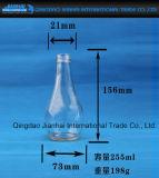 Milch-Glasflaschen-Getränkeglaswaren mit Muster
