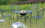 Sillas al aire libre y vectores que pintan los muebles del jardín