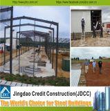 Estructuras de acero del bajo costo y de la alta calidad/estructura de acero de la cortina para el almacén