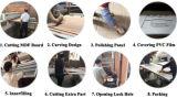 Únicas portas de madeira niveladas do PVC do MDF (SC-P054)