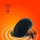 souris optique sans fil de récepteur de 2.4GHz USB 2.0 pour l'ordinateur portatif de PC