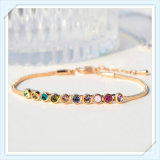 Het nieuwe Sokje van de Juwelen van de Manier van de Stenen van het Glas van het Ontwerp Kleurrijke